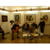Matyóföld szerkesztősége  a Múzsák Kertjében 2011.04.12. (13)