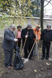 Alapítás, diófa ültetés 2009.11.14. (30)