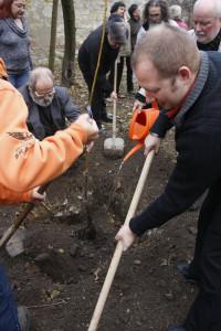 Alapítás, diófa ültetés 2009.11.14. (40)